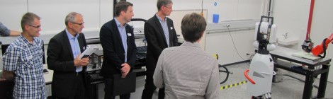 CSEM promotes the MEGAROB concept for the manufacturing industry