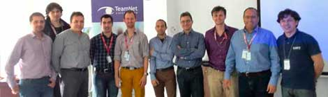 MEGAROB M12 meeting in Teamnet facilities, Bucharest